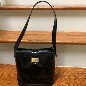 Authentic Ferragamo patent leather bag